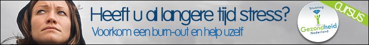 Stichting gezondheid Nederland promotie banner Burn-Out 728x90