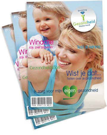 Mini-magazine van Stichting Gezondheid Nederland