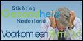Stichting gezondheid Nederland promotie banner Burn-Out 120x60