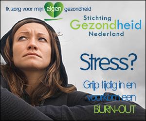 Stichting gezondheid Nederland promotie banner Burn-Out 300x250