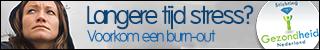 Stichting gezondheid Nederland promotie banner Burn-Out 320x50