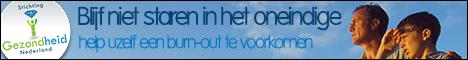 Stichting gezondheid Nederland promotie banner Burn-Out 468x60